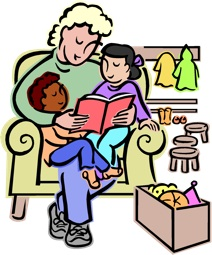 Mom with kids, MicroSoft Office Clip Art. All Rights Reserved