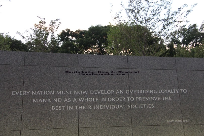Martin Luther King, Jr. Memorial in Washington D.C. ©dswalkerauthor.com May be shared with length to this post.