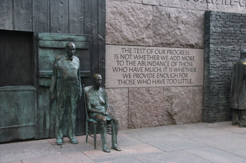 FDR Memorial July 2012 ©Delightfully Different Life